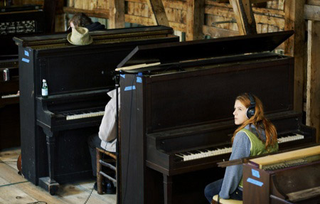 Down on the piano farm